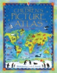 Children's Picture Atlas - Fiona Watt - cover