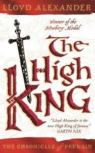 The High King - Lloyd Alexander - cover