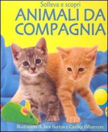 Animali da compagnia - Sarah Khan - copertina