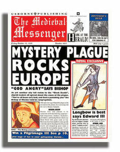 Newspaper Histories The Medieval Messenger - Paul Dowswell,Fergus Fleming - cover
