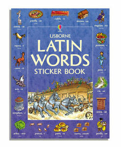 Latin Words Sticker Book - cover