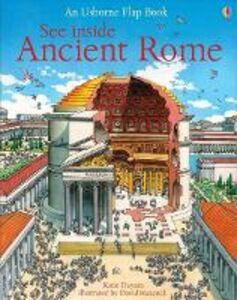 Foto Cover di See inside ancient Rome, Libro di Katie Daynes, edito da Usborne Publishing