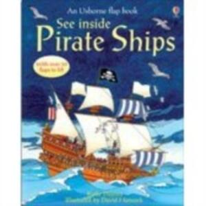 See Inside Pirate Ships - Katie Daynes - cover