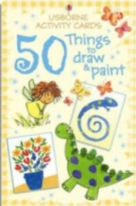 Activity Cards: 50 Things to Draw and Paint - cover