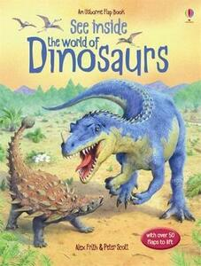 See Inside the World of Dinosaurs - Alex Frith - cover