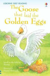 The Goose That Laid The Golden Eggs - Mairi MacKinnon - cover