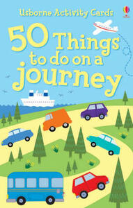 50 Things To Do On A Journey Activity Cards - cover