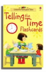 Farmyard Tales Telling The Time Flashcards - cover