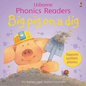 Big Pig On A Dig Phonics Reader - cover