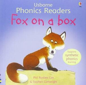 Fox On A Box Phonics Reader - cover