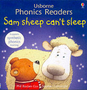 Sam Sheep Can't Sleep Phonics Reader - cover