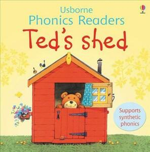 Ted's Shed Phonics Reader - cover