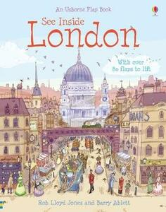 See Inside London - Katie Daynes,Rob Lloyd Jones - cover