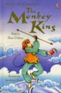 The Story of The Monkey King - Rosie Dickins - cover