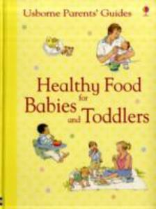 Healthy Food for Babies and Toddlers - Henrietta Fordham - cover