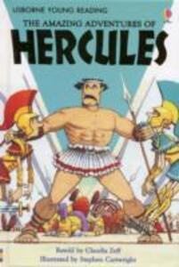 The Amazing Adventures of Hercules - Claudia Zeff - cover