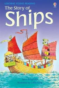 The Story of Ships - Jane Bingham - cover