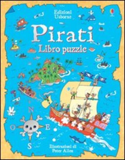Pirati. Libro puzzle - Peter Allen - copertina