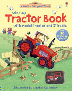Farmyard Tales Wind-Up Tractor Book - cover