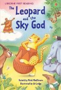 The Leopard and the Sky God - Mairi MacKinnon - cover