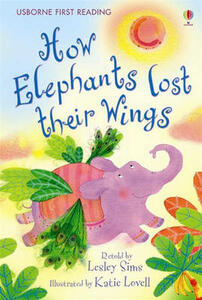 How the Elephants Lost Their Wings - Lesley Sims - cover