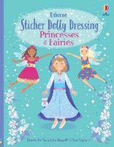 Sticker Dolly Dressing: Princesses and Fairies - Fiona Watt - cover