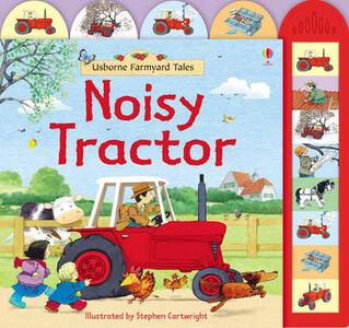 Farmyard Tales Noisy Tractor - cover