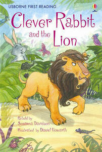 The Clever Rabbit and the Lion - Susanna Davidson - cover