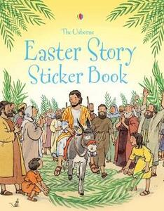 Easter Story Sticker Book - Heather Amery - cover