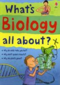 What's Biology All About? - Hazel Maskell - cover