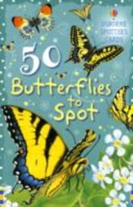 50 Butterflies to Spot - Fiona Patchett - cover