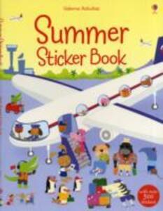 Summer Sticker Book - Stella Baggott - cover