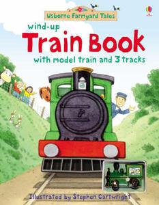 Farmyard Tales Wind-Up Train Book - cover