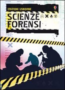 Scienze forensi - Alex Frith - copertina