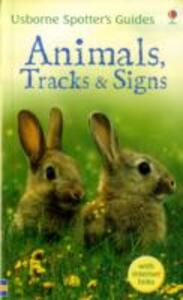 Animals, Tracks and Signs - Alfred Leutscher,Sarah Kahn - cover