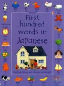 First Hundred Words in Japanese - Kirsteen Rogers - cover