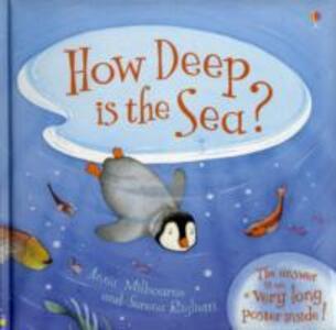 How Deep is the Sea? - Anna Milbourne - cover