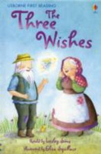 The Three Wishes - Lesley Sims - cover