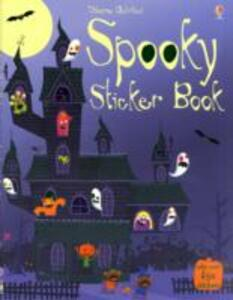 Spooky Sticker Book - Stella Baggott - cover