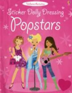 Sticker Dolly Dressing Popstars - Lucy Beckett-Bowman - cover