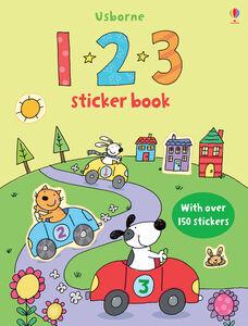 Foto Cover di 1 2 3 sticker book. Con adesivi, Libro di  edito da Usborne Publishing