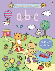ABC Sticker Book - Sam Taplin - cover
