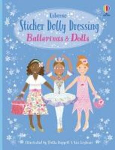 Sticker Dolly Dressing Bind-Up Ballerinas and Dolls - Leonie Pratt - cover