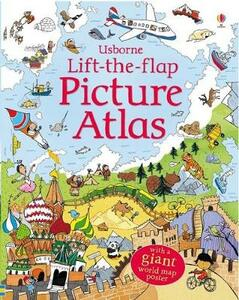 Lift the Flap Atlas - Alex Frith - cover