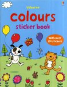 First Sticker Book Colours - cover