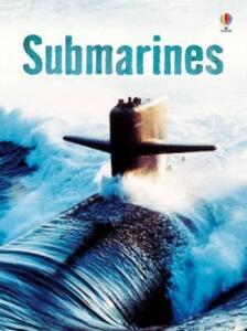 Submarines - Alex Frith - cover