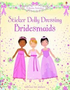 Sticker Dolly Dressing Bridesmaids - cover