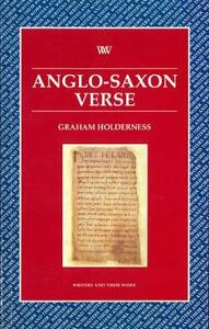 Anglo-Saxon Verse - Graham Holderness - cover
