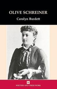 Olive Schreiner - Carolyn Burdett - cover
