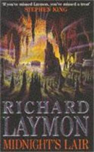 Midnight's Lair: A terrifying journey deep underground - Richard Laymon - cover